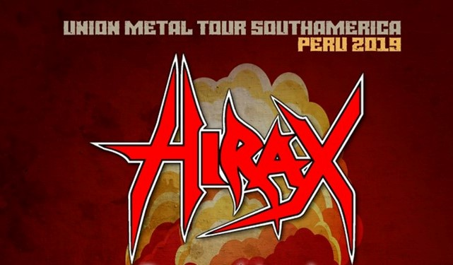 Hirax llegará a la capital para brindar esperado concierto
