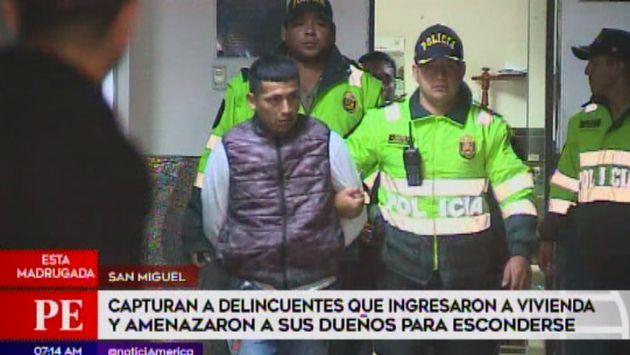San Miguel: delincuentes amenazan a dueños de casa para esconderse tras robo