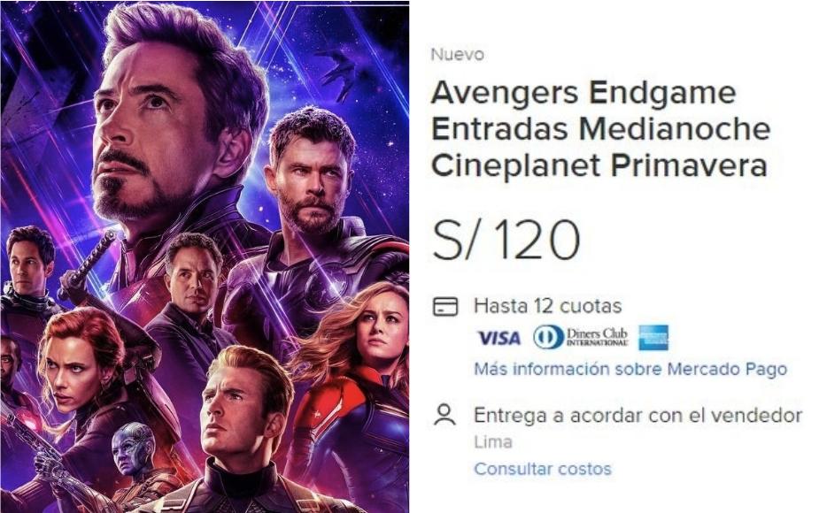 'Avengers: Endgame': reventa de entradas vuelve locos a fanáticos de Marvel