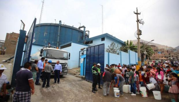 Sedapal estableció puntos de entrega de agua si ocurre un sismo de gran magnitud en Lima