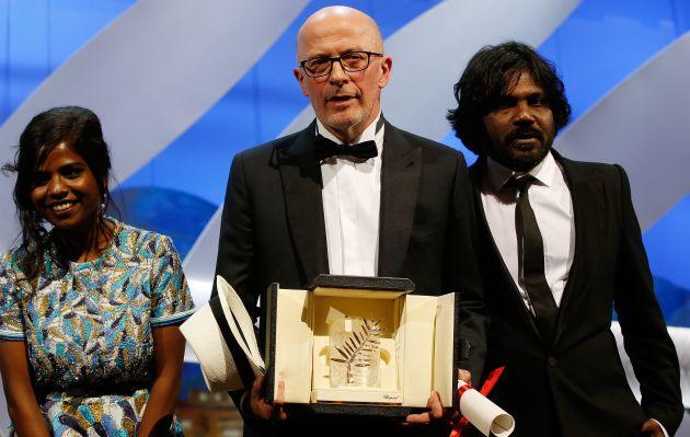 """La película """"Dheepan"""" se llevó la Palma de Oro en Cannes"""