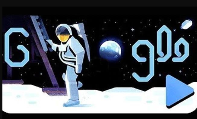 Google conmemora 50 años del primer alunizaje con doodle especial | VIDEO