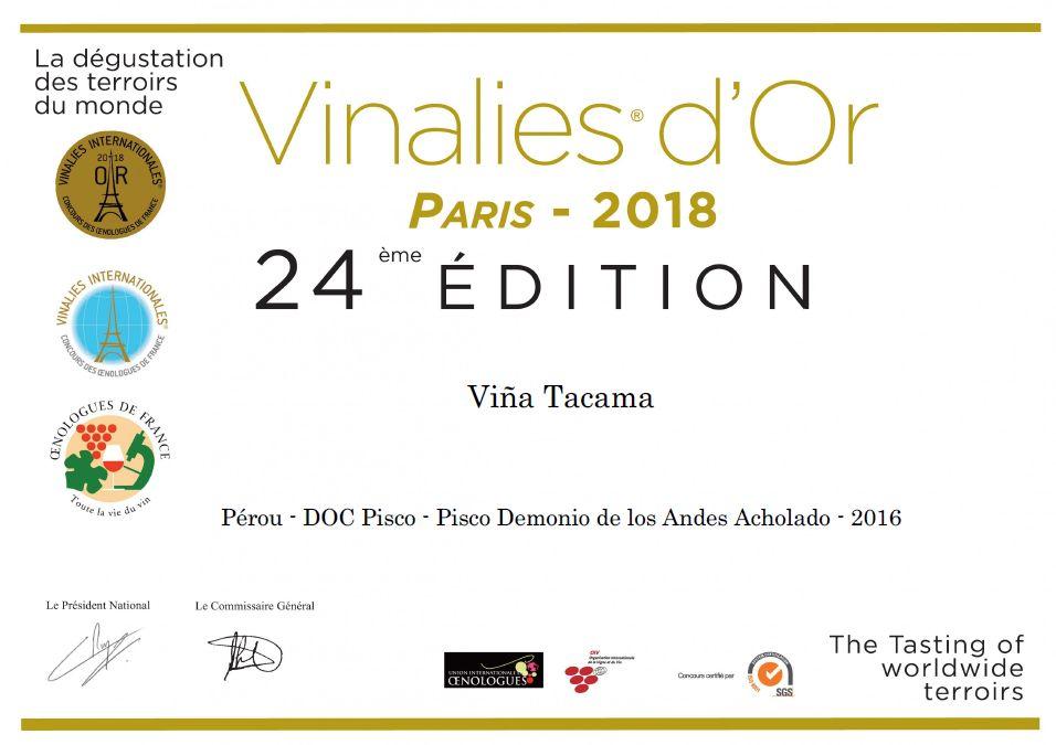 Premio 'Demonio de los Andes'