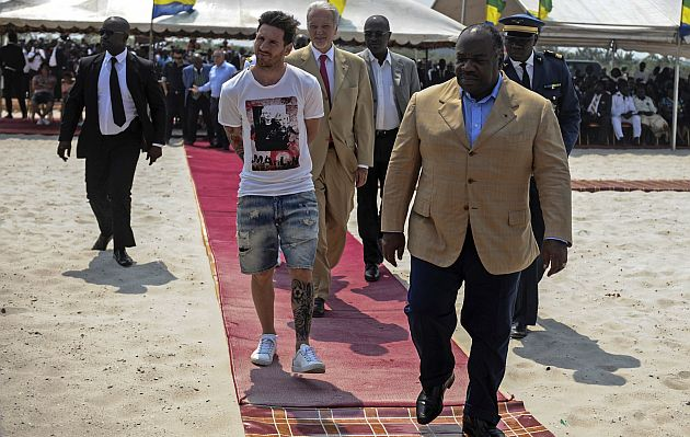 ¿Presidente de país africano pagó 3,5 millones de euros por visita de Messi?