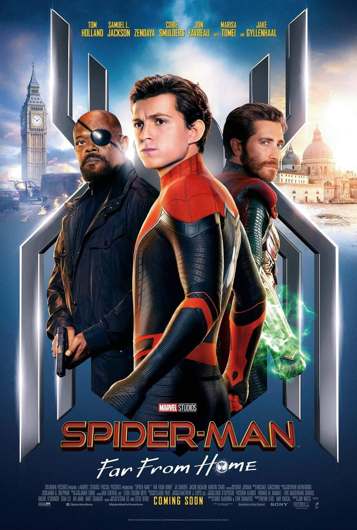 Spider-Man: Far From Home. (Marvel)