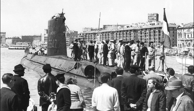 Francia: Hallan submarino desaparecido hace 50 años en el Mediterráneo | FOTOS
