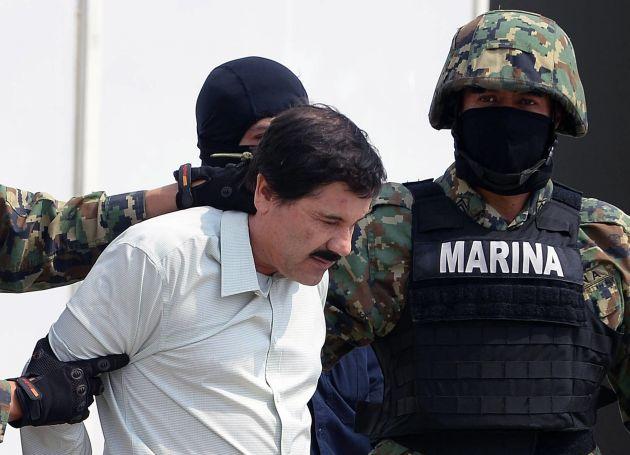 'El Chapo', el narco mexicano que de niño vendía caramelos, a la espera de su condena