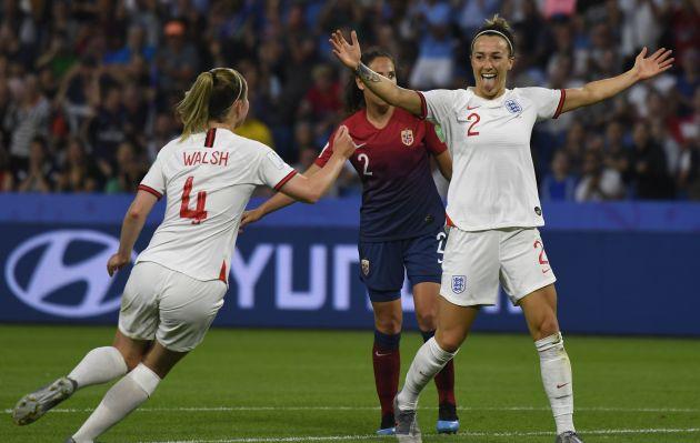 Inglaterra elimina a Noruega por 3-0 en el Mundial Femenino de Fútbol