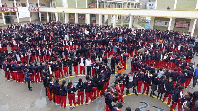 Más de 8 millones de escolares participarán este jueves en el tercer simulacro de sismo, informó Minedu