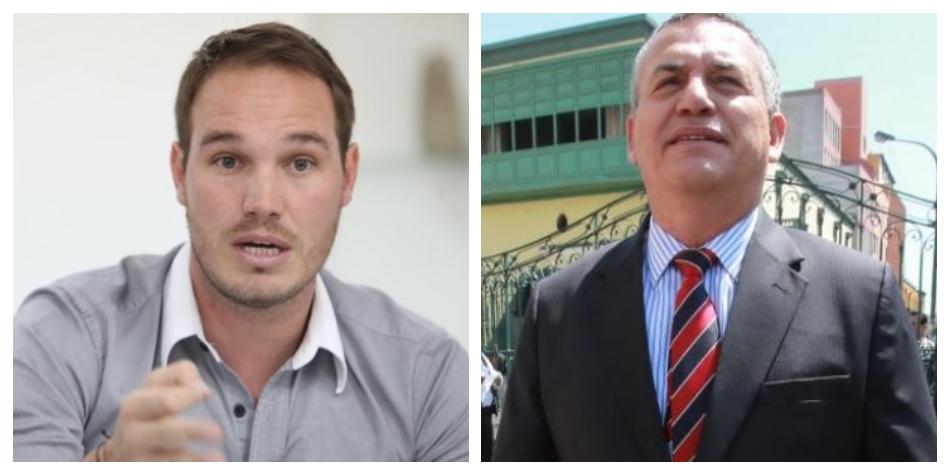 """George Forsyth sobre Daniel Urresti: """"Sé que pondrá el orden en Los Olivos"""""""