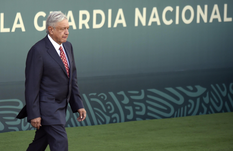 El Ejercito Mexicano, la Policía Federal, autoridades estatales y también elementos identificados de la nueva Guardia Nacional participaron de esta operación. (AP)