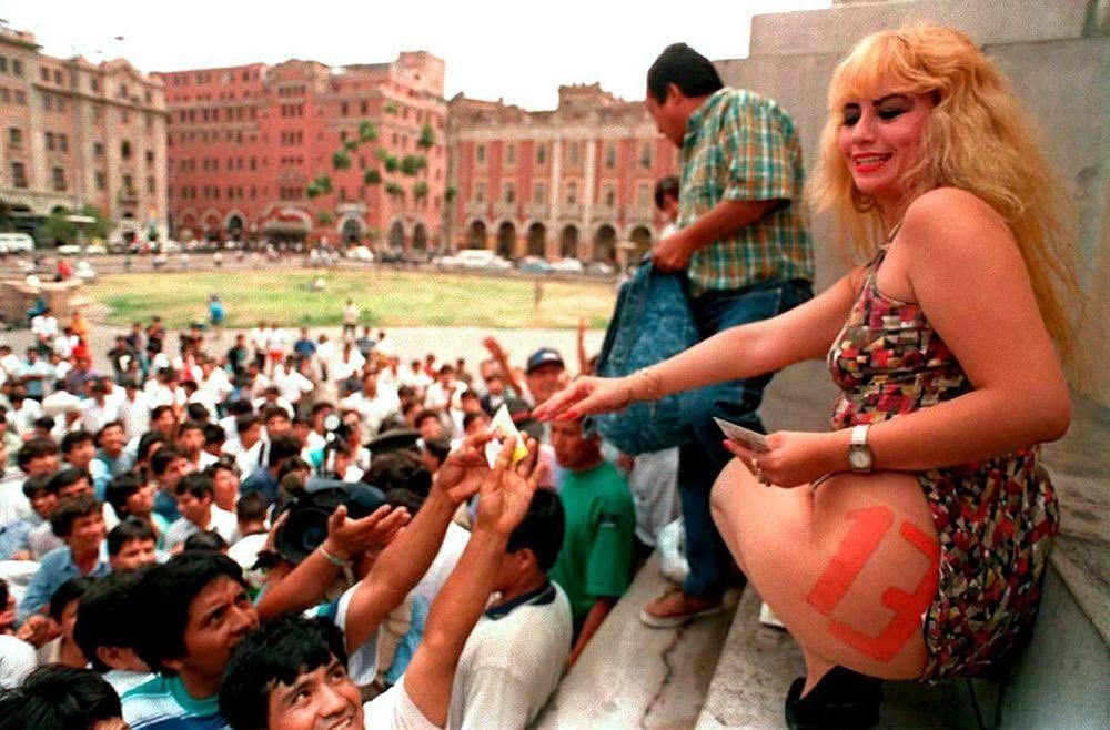 Susy Díaz fue congresista en el periodo 1995-2000. (Foto: GEC)