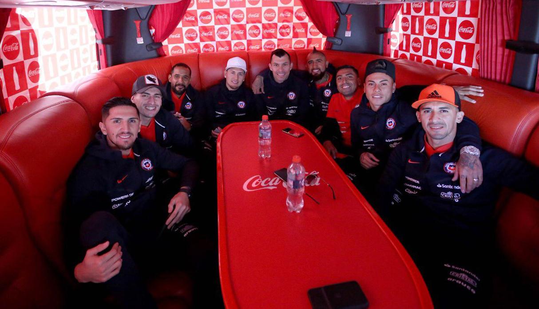 Copa América: Selección de Chile llega a Brasil para defender su título