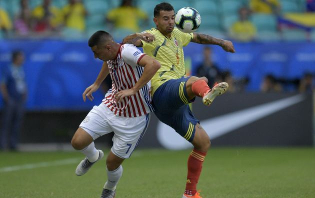 Colombia venció 1-0 a Paraguay por el Grupo B de Copa América 2019