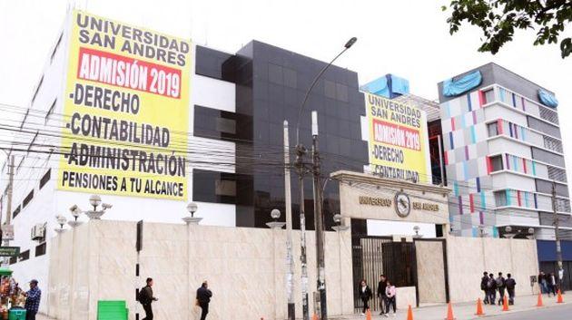Sunedu denegó la licencia institucional a la Universidad San Andrés y deberá cerrar en dos años