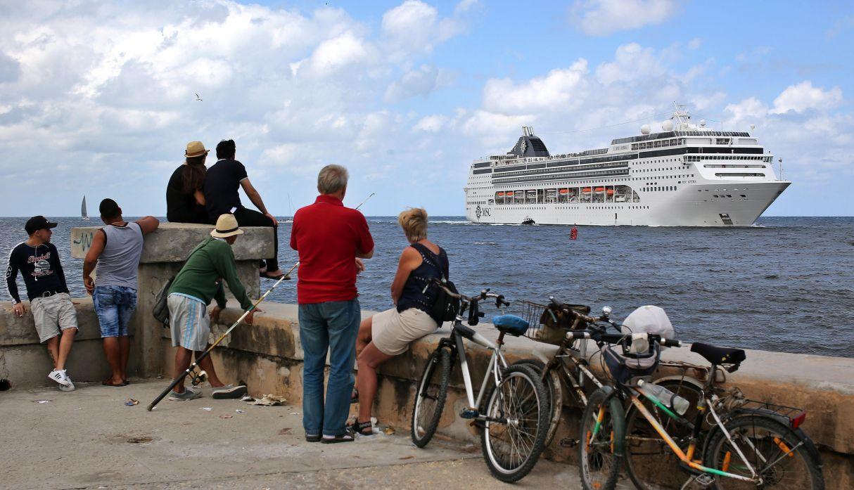 Estados Unidos prohíbe desde el 5 de junio los viajes en crucero a Cuba