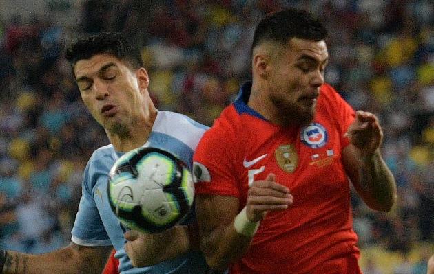 Uruguay venció 1-0 a Chile por el Grupo C de Copa América Brasil 2019