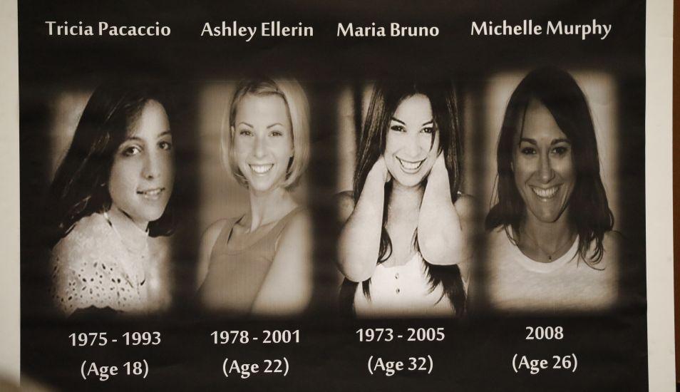 Las víctimas de Michael Gargiulo. (Foto: AFP)