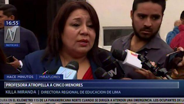 Miraflores: trasladan al Hospital del Niño a menor de 3 años atropellado en Av. Benavides