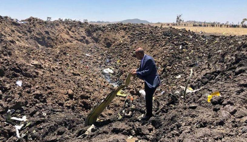 Etiopía enviará al extranjero las cajas negras del avión para su análisis