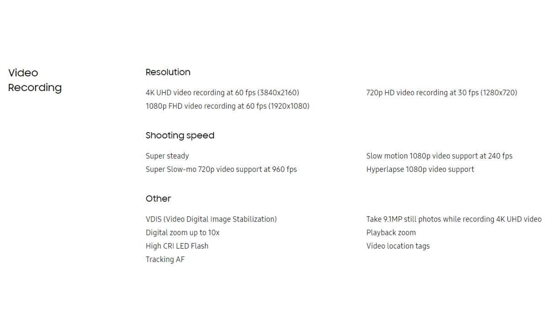 Samsung Galaxy Fold - Especificaciones 5