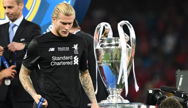 """Karius felicitó a Liverpool por el título de la Champions League: """"Te lo merecías"""""""