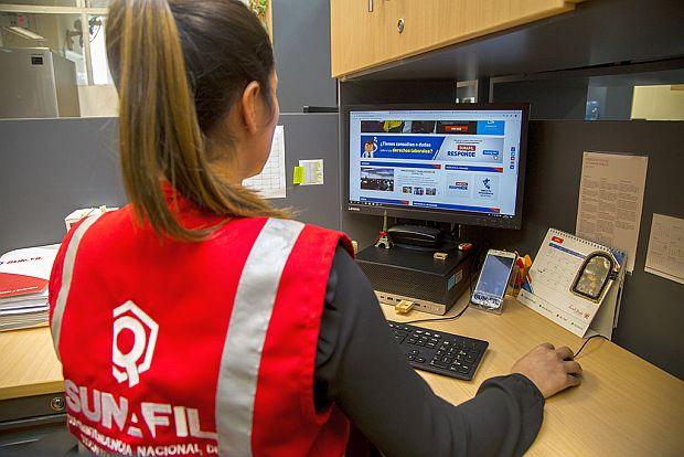 Sunafil atenderá por Internet consultas laborales en dos días como máximo