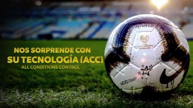 Perú vs. Brasil: presentaron el balón oficial de la final de la Copa América 2019   VIDEO