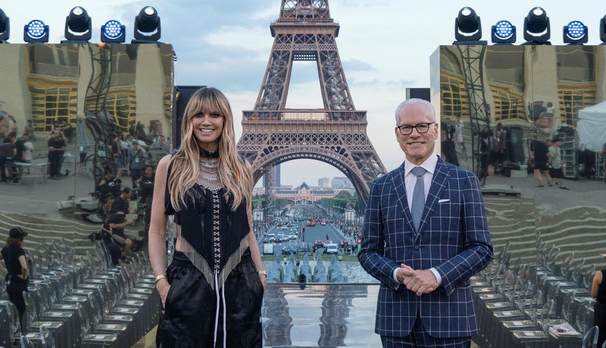 Heidi Klum inició en París el rodaje de su nuevo reality de moda para Amazon Prime Video | FOTOS Y VIDEOS