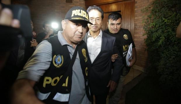 Jaime Yoshiyama: aprueban apelación contra orden para cambiarlo de penal