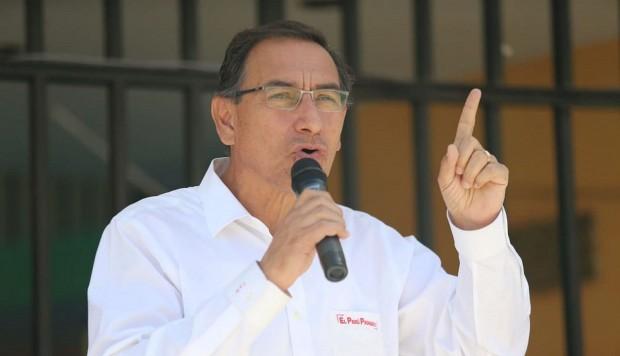 """Vizcarra sobre Toledo: """"debemos respetar lo que diga la justicia de EE.UU."""""""