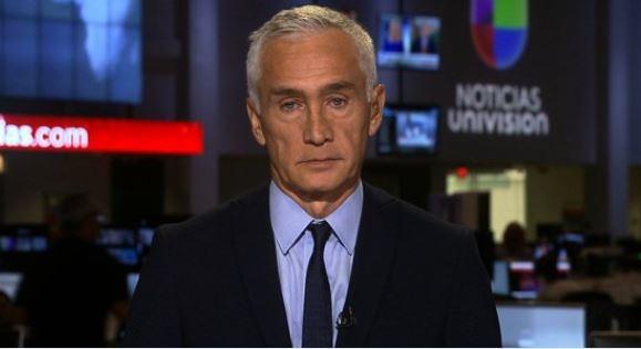 Periodista Jorge Ramos de Univisión. (Captura Univisión)