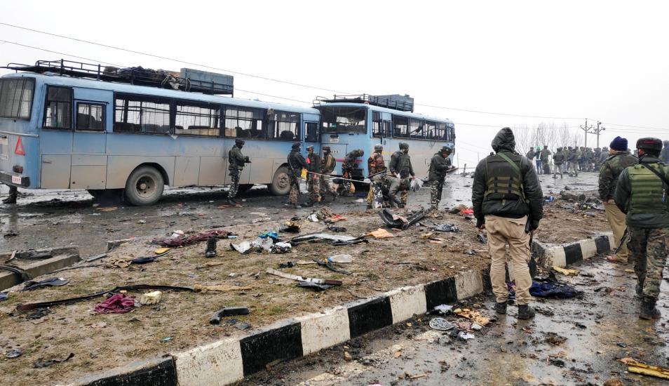 Muertos en peor atentado en la Cachemira india en casi dos décadas. (Foto: Reuters).
