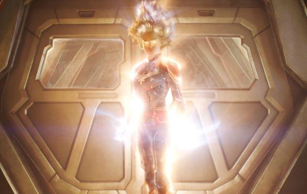 'Capitana Marvel' es el sexto mejor estreno mundial de la historia