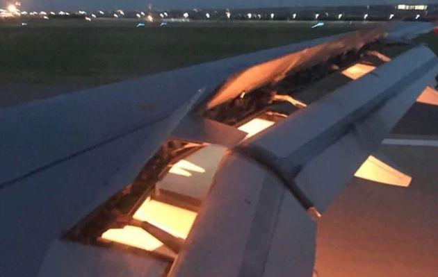 Motor del avión que trasladaba al plantel de Arabia Saudita se incendió en pleno vuelo
