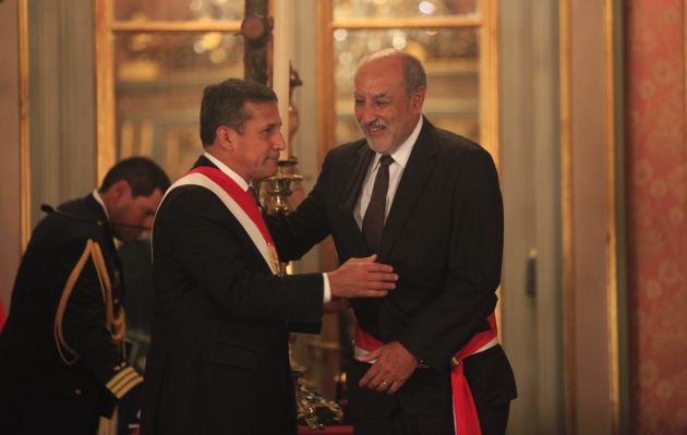 Humala respalda a ministro Mayorga
