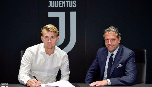 Juventus fichó a Matthijs de Ligt en una operación de 85.5 millones de euros