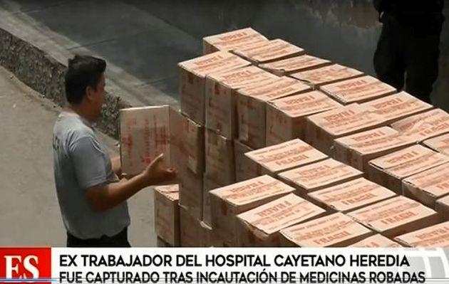 Policía incauta medicamentos valorizados en más de un millón de soles | VIDEO