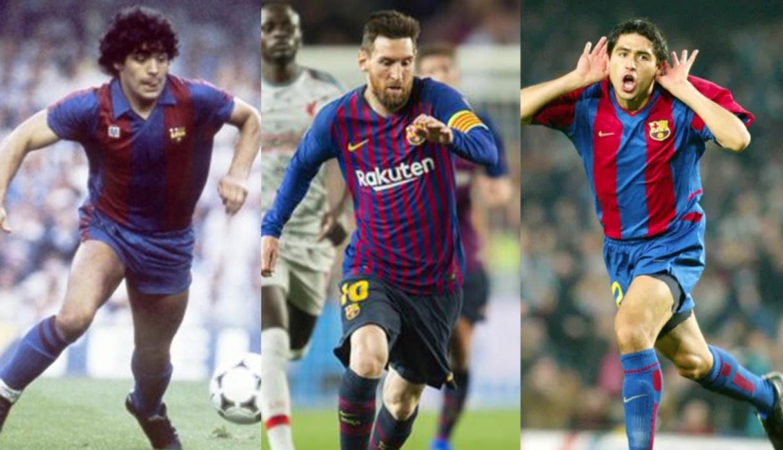 FC Barcelona: al descubierto secretos de los fichajes de Messi, Maradona y Riquelme
