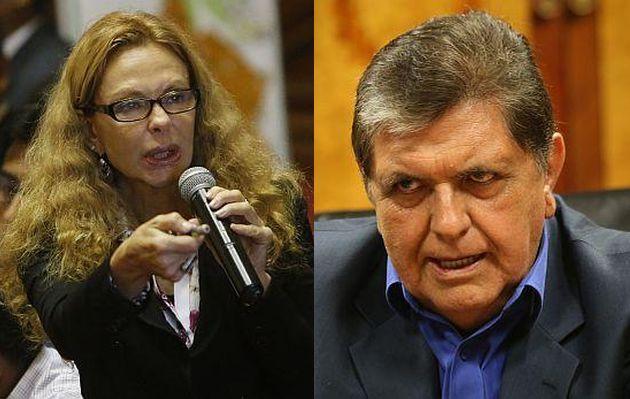 Facebook: Eliane Karp arremetió contra Alan García