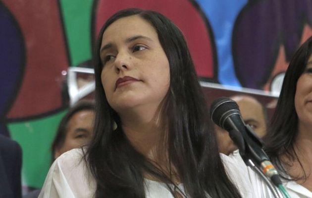 """Verónika Mendoza califica declaraciones de Alan García como """"desesperadas"""""""