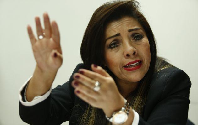 Alejandra Aramayo cuestiona al alcalde Jorge Muñoz por 'falta de liderazgo'