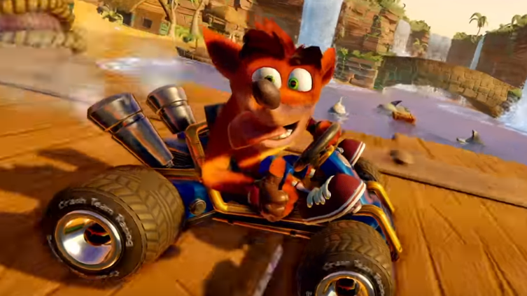 Crash Team Racing Nitro Fueled: se inicia preventa del juego más esperado del 2019
