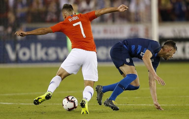 1-1. Chile juega para ganar y se conforma con el empate ante EE.UU.