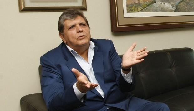 """Alan García: """"Sería una gran injusticia"""" que se dicte una detención en mi contra"""