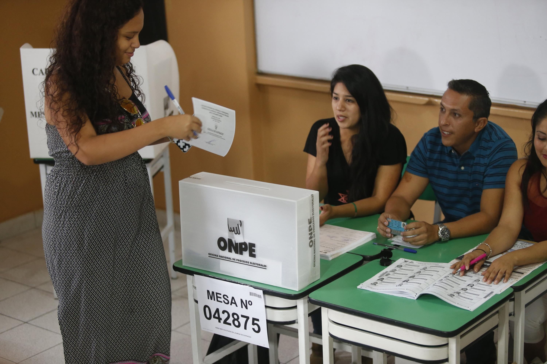 ONPE: consulta si serás miembro de mesa en las Elecciones Municipales Complementarias