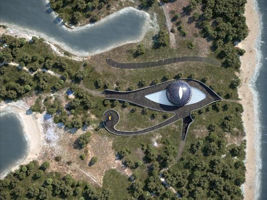 'Ojo de Horus': la extravagante eco-casa de Naomi Campbell en Turquía