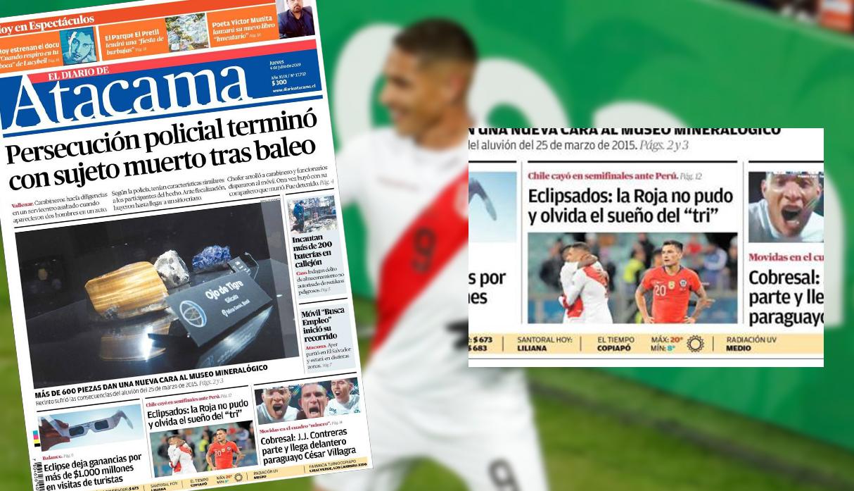 Perú a la final de la Copa América 2019: diarios chilenos lamentan el sueño truncado del 'Tri' | FOTOS