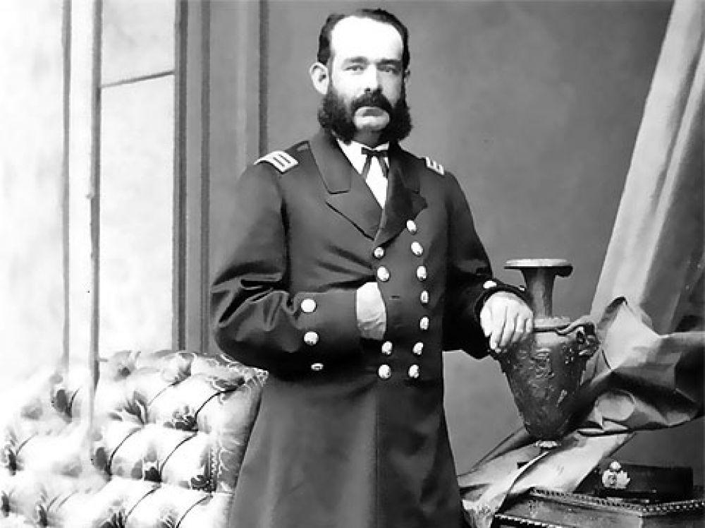 Miguel Grau Seminario en 1874.