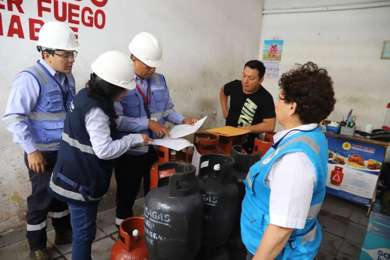 Magdalena: clausuran locales de venta de gas por no cumplir con medidas de seguridad | FOTOS
